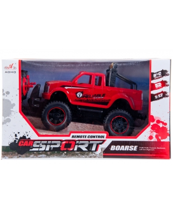Auto terénne červené R/C 43cm