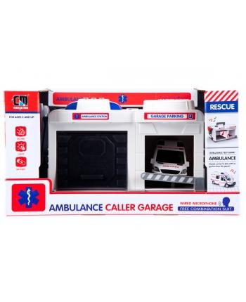 Garáž s ambulanciou 37cm