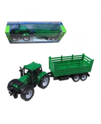Traktor s vlečkou na zotrvačník 32cm