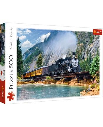 Puzzle 500 Horský vlak