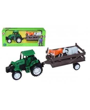 Traktor s vlečkou na zotr.