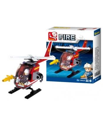 Stavebnica Hasiči Helikoptéra 80ks