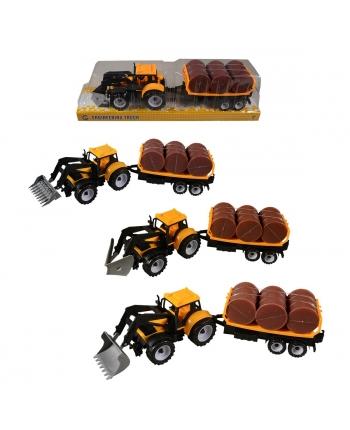 Traktor s príves.na zotrvačník 32cm