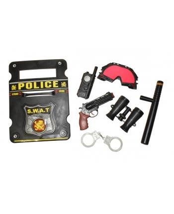 Policajný štít s príslušenstvom