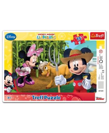 Puzzle 15 rámkové - Mickeyho club