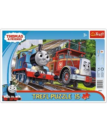 Puzzle 15 rámkové Tomáš a priatelia