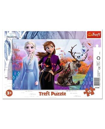 Puzzle 15 rámkové Disney Frozen 2