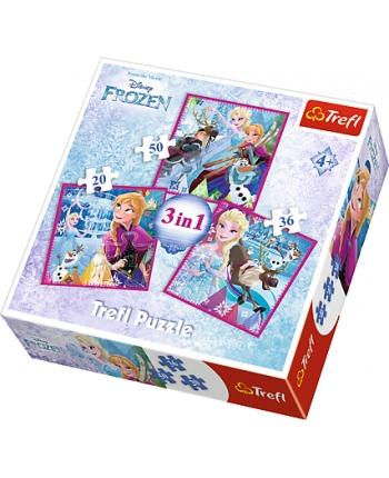 Puzzle 3v1 Frozen