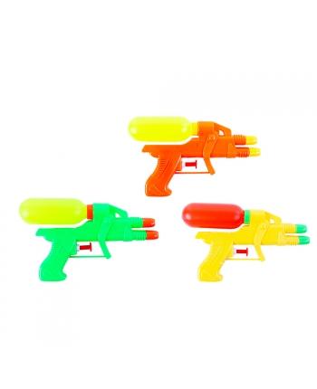 Pištol vodná 16,5 cm 3 farby