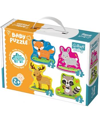 Puzzle Baby Classic Zvieratá z lesa