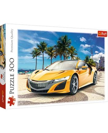 Puzzle 500 Auto na pláži