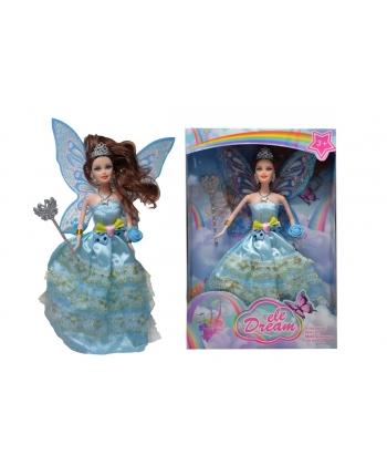 Bábika víla s krídlami 28 cm