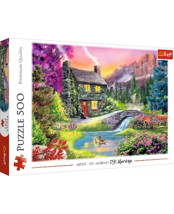 Puzzle 500 Horská idylka