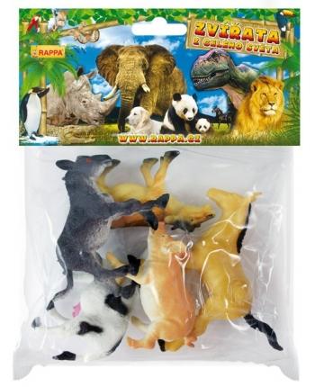 Zvieratá domáce v sáčku 5ks