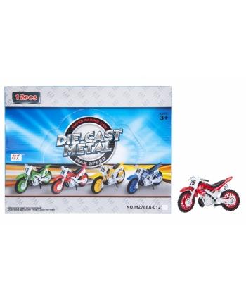 Motocykel kovový 12ks v dbx 12cm