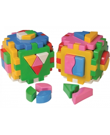 Didaktická kocka 2ks, 12x12cm