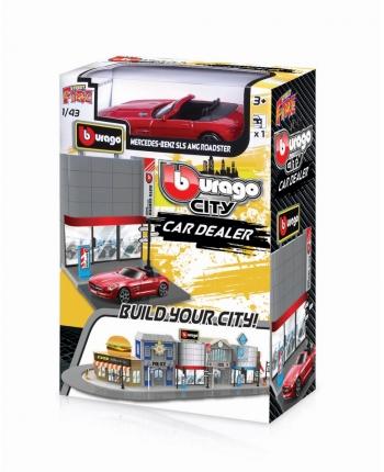 Bburago 1:43 City CAR DEALER