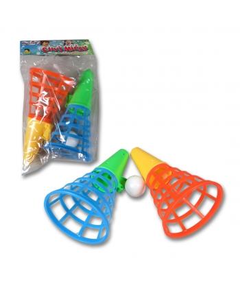 Hra košíky s loptičkou