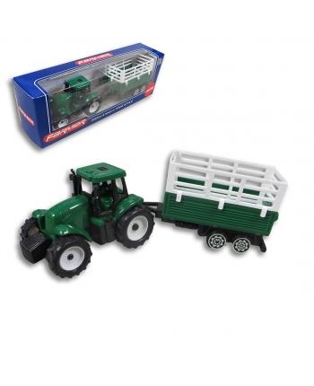 Traktor s vlečkou 17cm