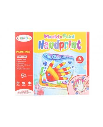 Tvorivá sádra - výroba otlačok ruky