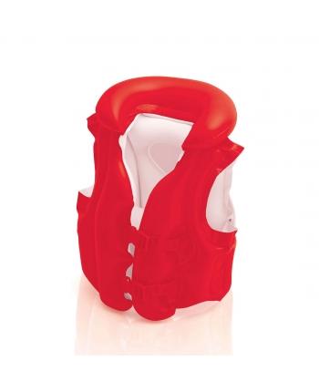 Plávacia vesta červená