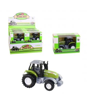 Traktor na spätný chod,kovový 9cm