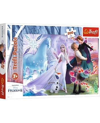 Puzzle 200 Magický svet Frozen 2