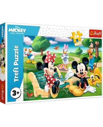 Puzzle 24 Maxi Mickey medzi priateľmi