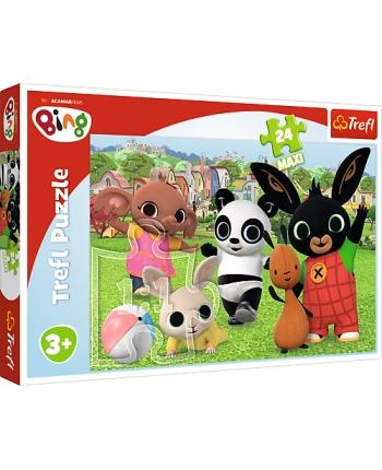 Puzzle 24 Maxi Bing - Zábava v parku