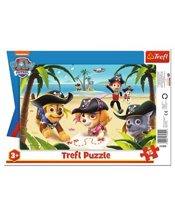 Puzzle 15 rámkové Paw Patrol