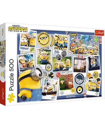 Puzzle 500 Minions kolekcia fotiek