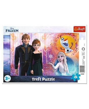 Puzzle 15 rámkové Frozen 2