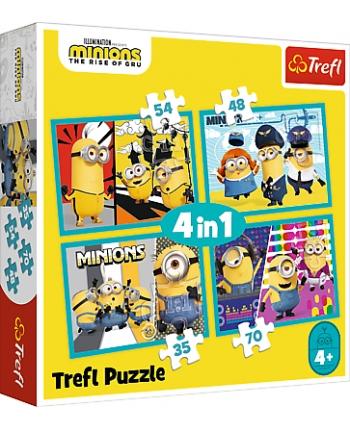 Puzzle 4v1 Minions