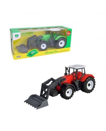 Traktor s pracov.nástrojom na zotrvačník