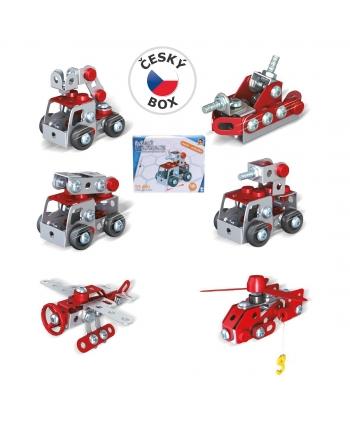 Malý mechanik - hasiči, 6 druhov