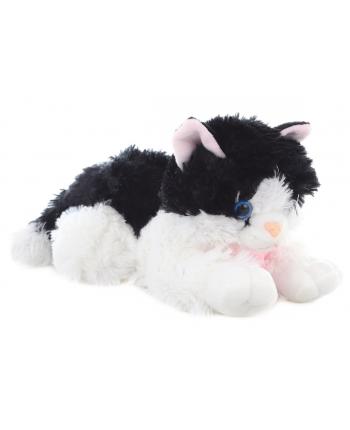 Plyš mačka čierno-biela 30cm