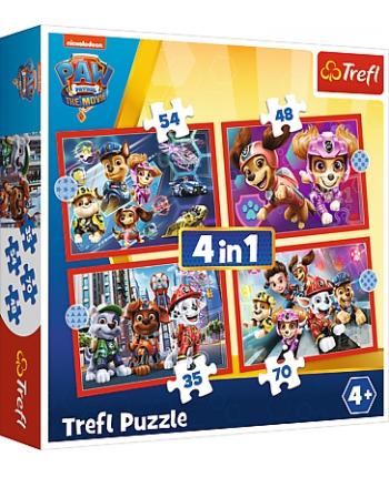 Puzzle 4v1Paw Patrol