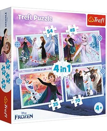 Puzzle 4v1 Frozen 2