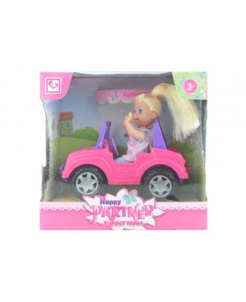 Bábika s autíčkom 18cm