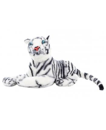 Plyšový tiger biely 57 cm