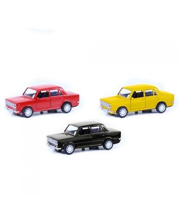 Auto kovové LADA v krabičke, 3 farby