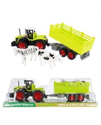 Traktor P/B so zvierat.a vlečkou 40cm