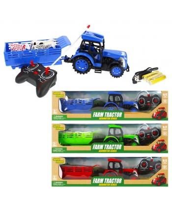 Traktor R/C s prívesom 49cm