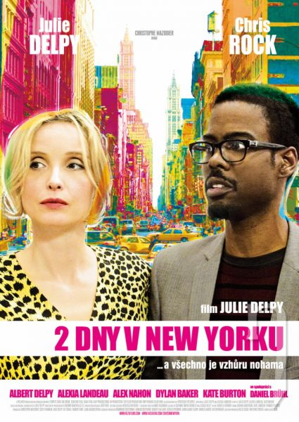 DVD Film - 2 dni v New Yorku
