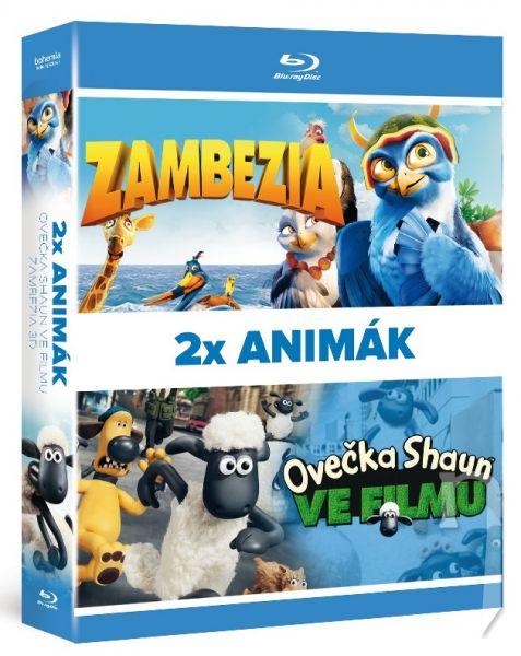 BLU-RAY Film - 2x Blu-ray Animák (2BD