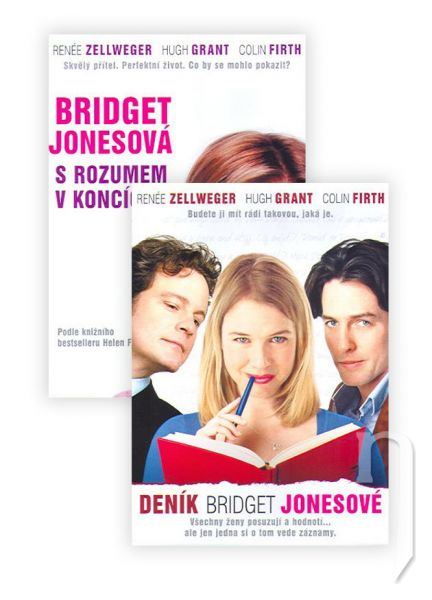 DVD Film - 2x Bridget Jones (2 DVD sada) papierový obal
