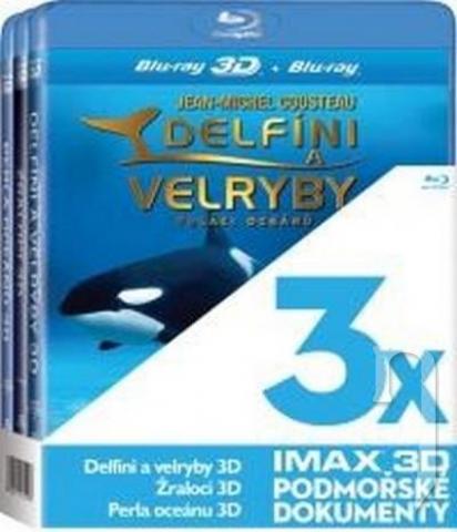 BLU-RAY Film - 3 BD 3D IMAX (3x Imax Bluray)