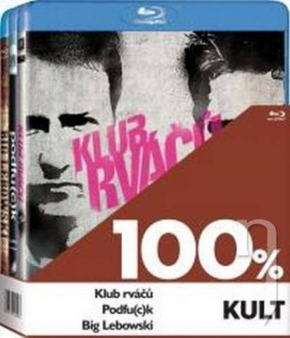 BLU-RAY Film - 3 BD 100% kult (3x Bluray)