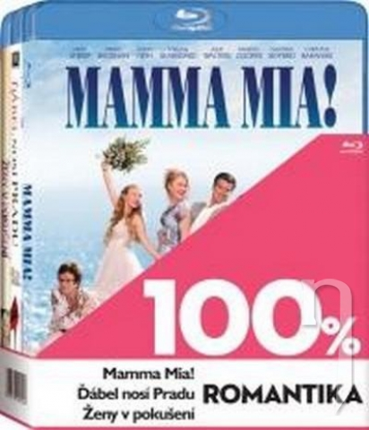 BLU-RAY Film - 3 BD 100% romantika (3x Bluray)