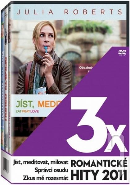 DVD Film - 3 DVD 3x Romantické hity 2011